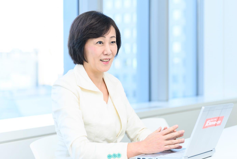 代表メッセージ 代表取締役社長 中村利江